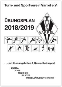 Übungsplan 2018/2019