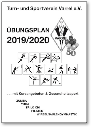 Übungsplan 2019/2020